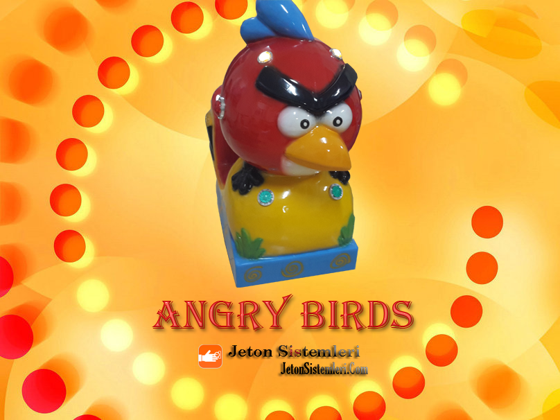 ANGRY BİRDS KİDDİE RİDES