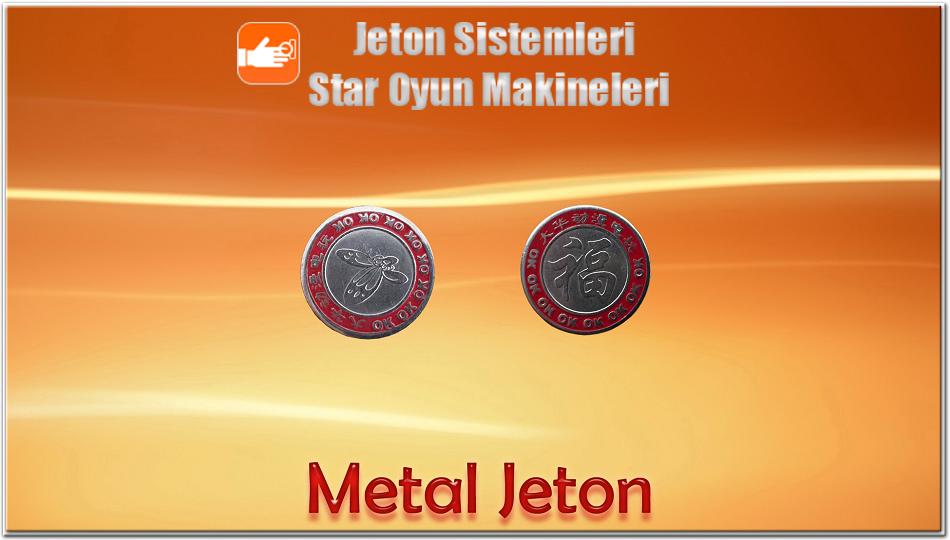 Baskılı Metal Jeton