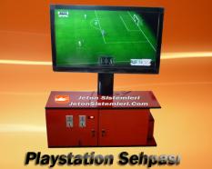 Jetonlu Playstation Sehpası